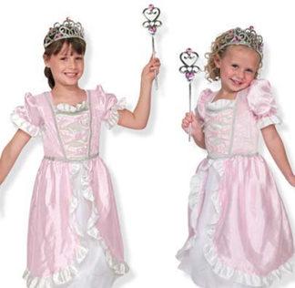 Utklädningskläder - Prinsessa