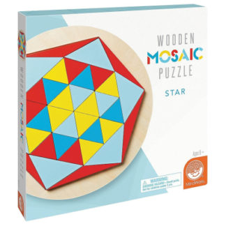 Wooden Mosaic Puzzle - Star